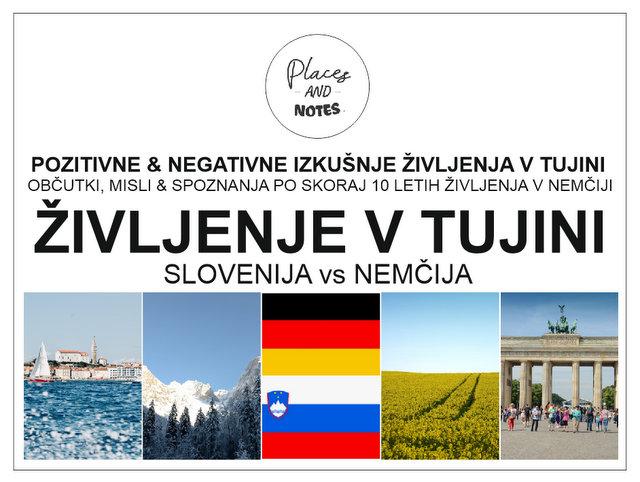 Selitev v tujino Zivljenje v tujini Nemcija Slovenija