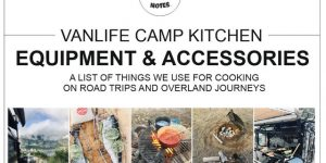 EQUIPMENT & ACCESSORIES for cooking on camping and overland trips | vanlife camp kitchen