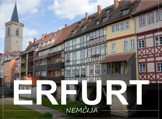 Erfurt Nemčija kaj videti in početi vikend izlet road trip Thuringen Turingija
