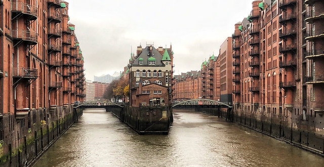 Speicherstadt Hamburg Germany Nemcija