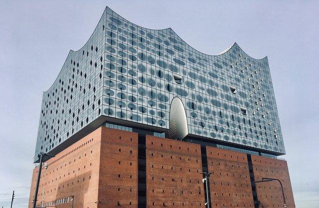 Elbphillharmonie filharmonija Hamburg Nemcija Germany