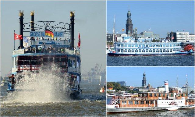 Hafenrundfahrt Hamburg Germany Nemcija port boat trip