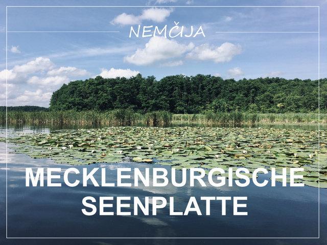 Jezera Mecklenburgische Seenplatte Nemčija kaj videti in početi kajak kolesarjenje sprehodi kampiranje