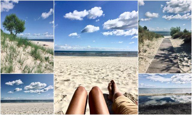 Peenemünde strand beach Usedom island Germany otok Nemcija