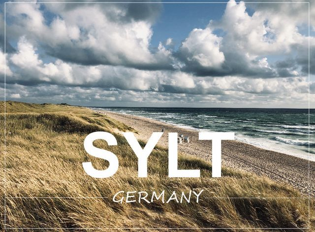 Sylt island Germany what to see and do