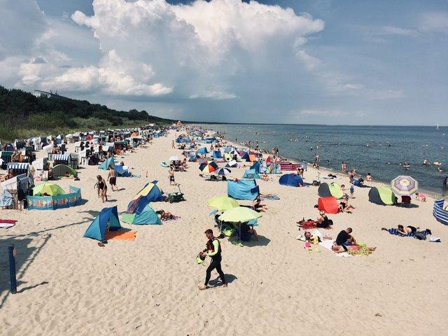 Zinnowitz Usedom beach Germany Nemcija island otok