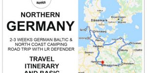 NORTHERN GERMANY | Baltic & north German coast camping road trip