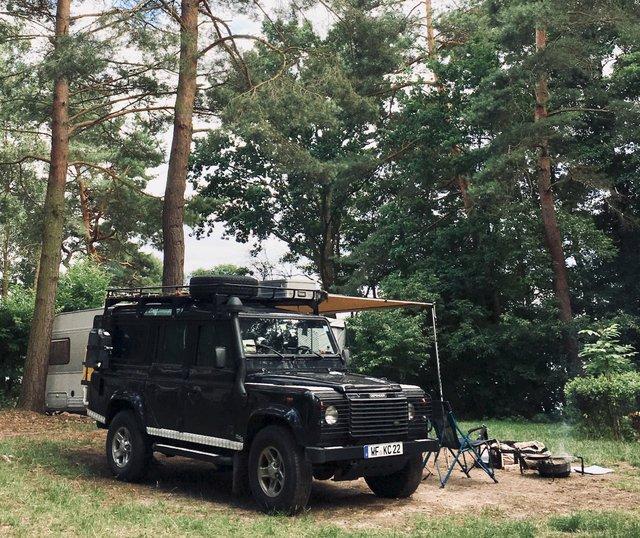 Gobenowsee camping Germany Nemčija kampiranje Mecklenburgische Seenplatte lakes jezera