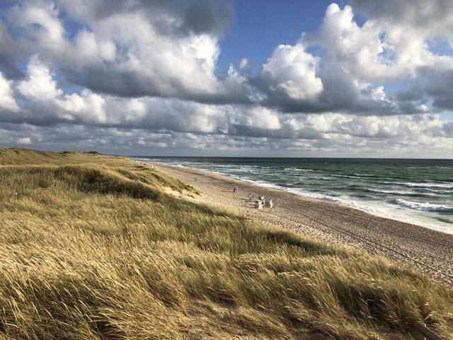 Rantum beach Sylt otok Nemcija Germany