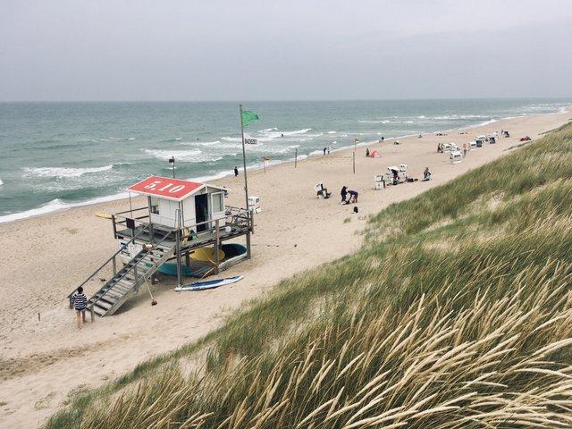 Rantum beach island Sylt Germany Nemcija