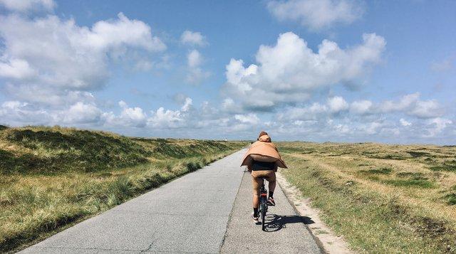 Ellenbogen List bicycle way Sylt Germany Nemcija