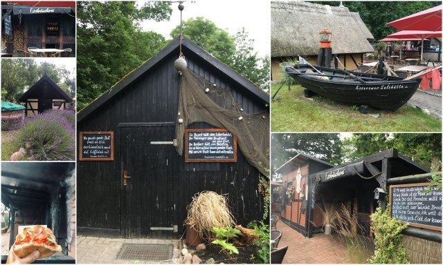 Koserow Fischhütte Usedom island Germany otok Nemcija dimljene ribe
