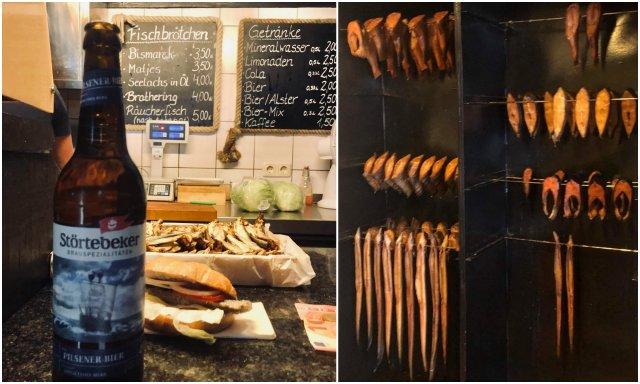 Koserow Fischräucherei smoked fish Usedom island Germany otok Nemcija dimljena riba