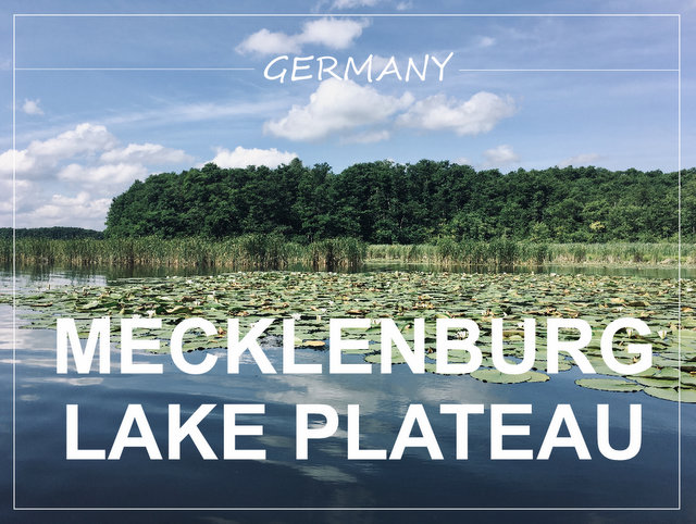 Mecklenburg lake plateau Germany Mecklenburgische Seenplatte what to see and do cycling kayaking camping