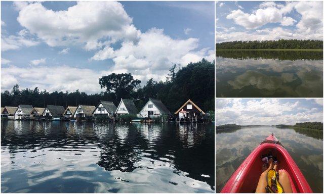 Rätzsee Mecklenburgische Seenplatte lakes Germany jezera Nemcija kajakiranje kayaking
