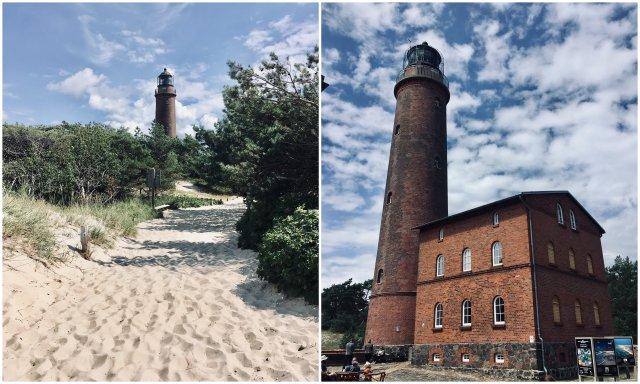 Vorpommersche Boddenlandschaft NP Germany Lighthouse Darßer Ort
