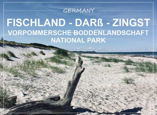 Vorpommersche Boddenlandschaft national park Germany