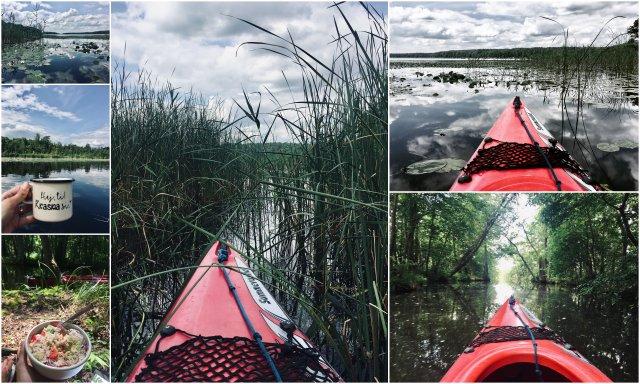 Zirtowsee Mecklenburgische Seenplatte lake Plateau Germany kayaking kajakiranje Nemčija