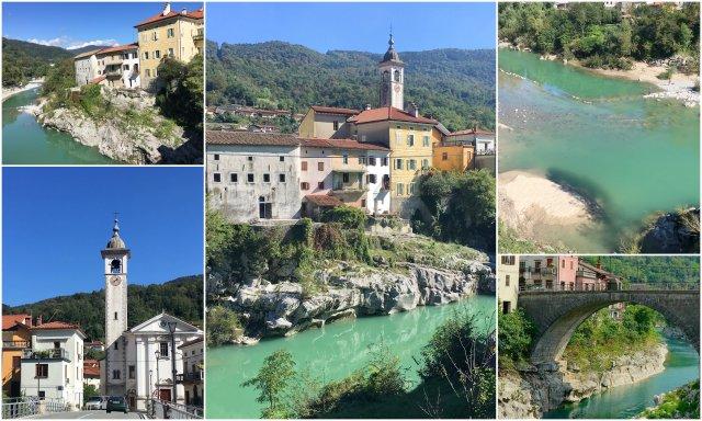 Kanal ob Soci Slovneija Slovenia Soca Valley