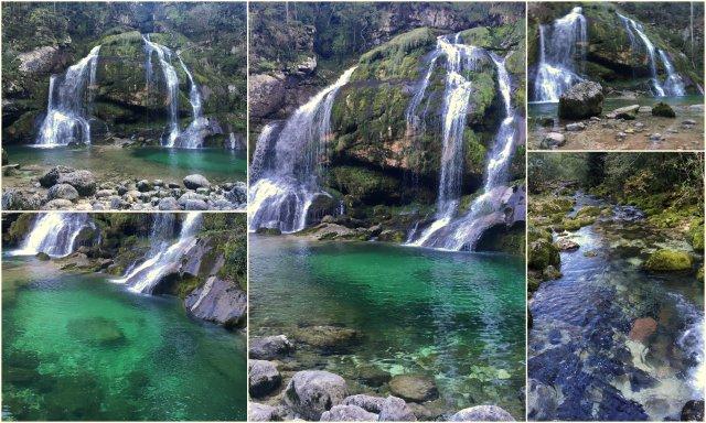 Slap Virje Bovec Soca Valley Slovenia waterfall Slovenija dolina Soče