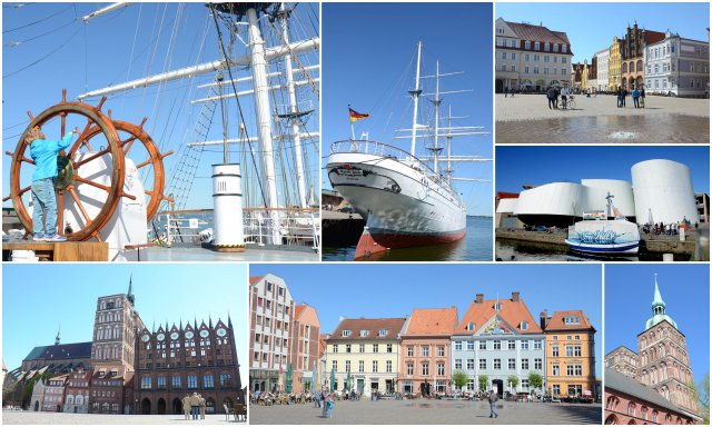 Stralsund Germany Baltic coast Nemčija Baltska obala potovanje