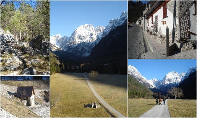 Strmec Log pod MAngartom dolina Soce kaj videti in poceti Slovenija Slovenia Soca valley