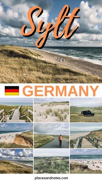 Sylt island Germany Norddeutschland holidays