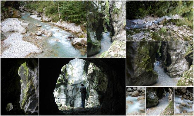 Tolminska korita dolina Soce Slovenija Soca valley Tolmin Slovenia