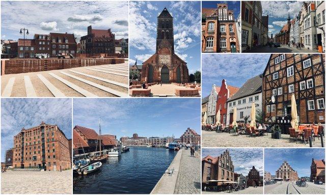 Wismar Germany Baltic coast Nemčija Baltska obala
