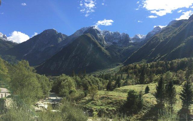 dolina Lepena Slovenija Slovenia valley