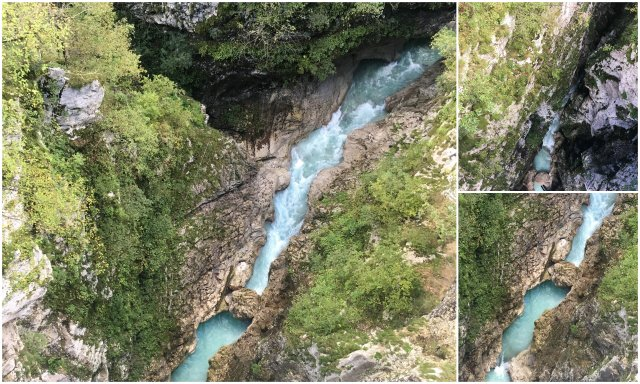 soteska koritnice Bovec dolina Soce Slovenija Slovenia Soca valley