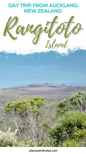 Day trip from Auckland to Rangitoto island, New Zealand