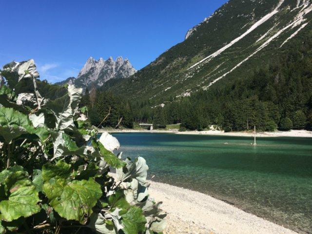 Lago di Predil Rabeljsko jezero izlet iz Kranjske Gore