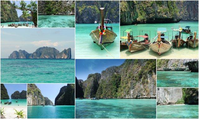 Ko Phi Phi Leh Maya Bay Loh Sama Bay Tajska Thailand