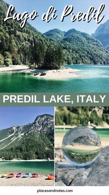 Lago di Predil Italy Predil lake day trip fmr Kranjska Gora slovenia