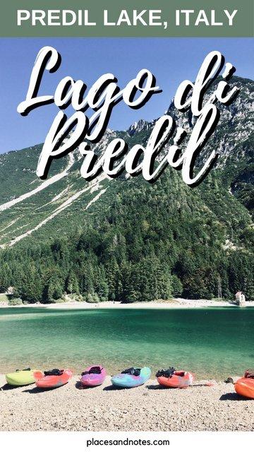 Lake Predil Italy day trip from Kranjska Gora Slovenia Lago di Predil