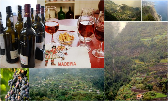 Madeira Portugal wine travel destination Portugalska vino potovanje