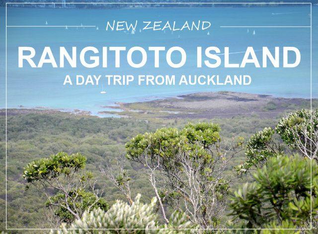 Rangitoto island New Zealand daytrip from Auckland