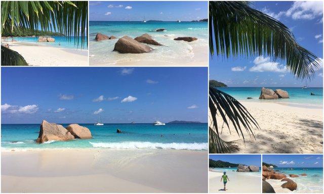 Sejšeli najlepše plaže Praslin Anse Lazio Seychelles