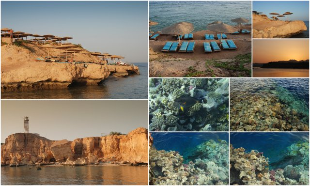 Sharm el Sheikh Egypt Egipt snorkljanje plaža