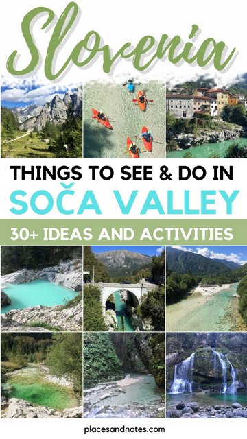Things to see and do in Trenta and Soca valley, Slovenia - 30 ideas and activities