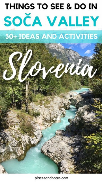 Things to see and do in Trenta and Soca valley, Slovenia