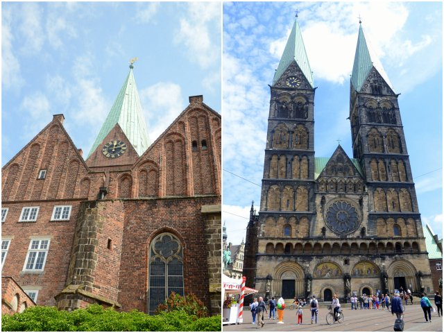 Bremen churches what to see and do Germany Nemcija