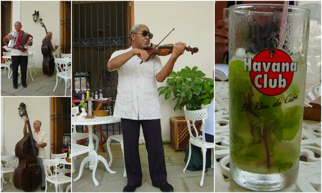 Cuba Havana street musicians mojito Kuba