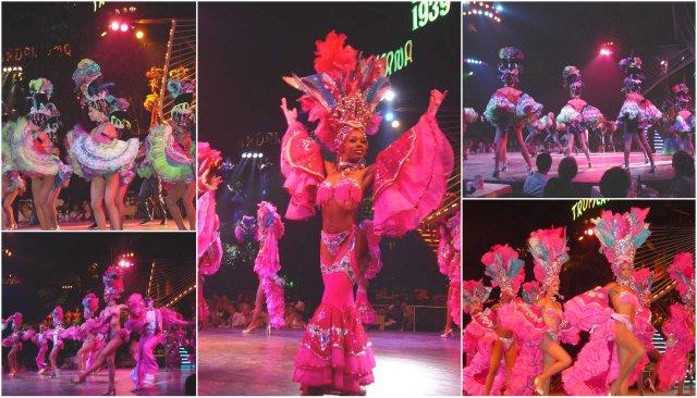 Cuba Tropicana show dancing Kuba pleasna predstava Havana