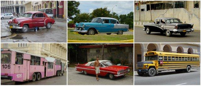 Cuba old American cars Kuba ameriski oldtajmerji