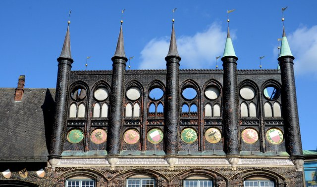 Rathaus Lübeck city hall Germany severna Nemcija what to see and do road trip