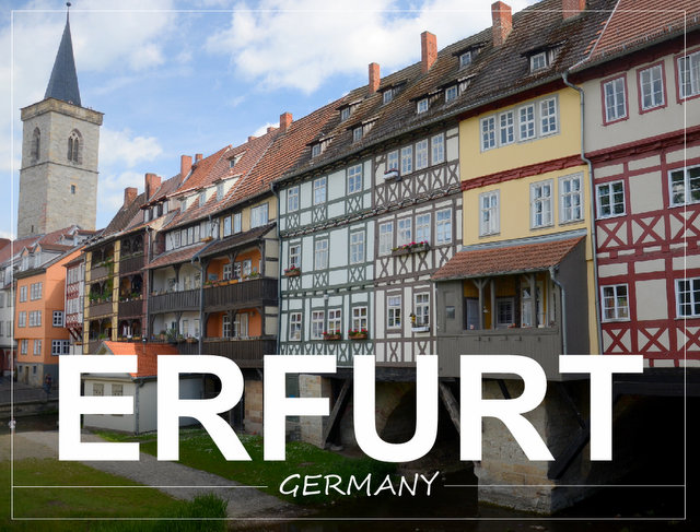 Erfurt Germany Thüringen what to see and do road trip