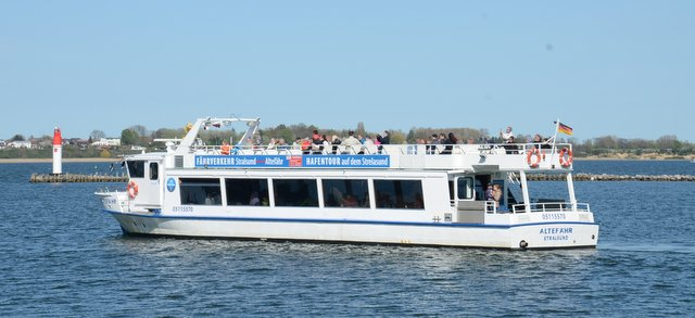 Hafenrundfahrt Germany Stralsund Nemcija potovanje