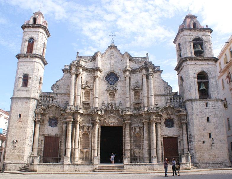 Havana cathderal katedrala Cuba Kuba